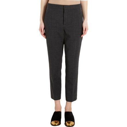 Marni Cropped Gabardine Trousers at Barneys.com