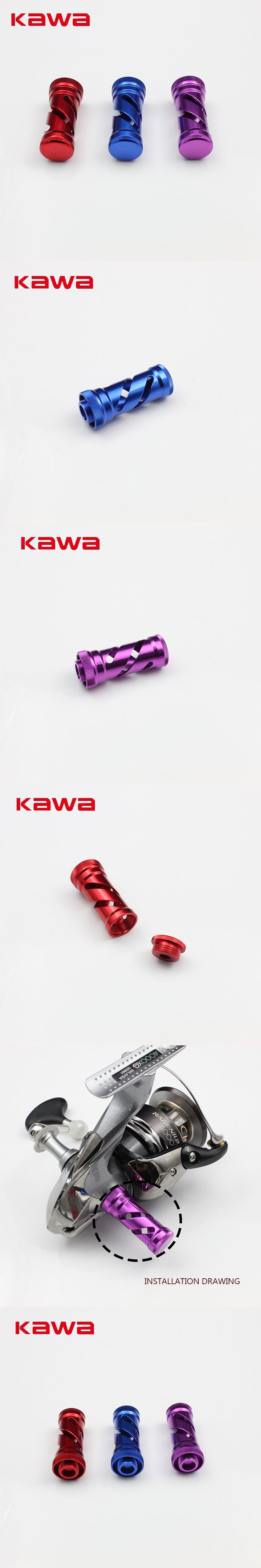 Kawa New Fishing Gear Fishing Reel for Spinning wheel Type, Fishing Reel Stand Accessory Suit for Shimano and Daiwa Reels
