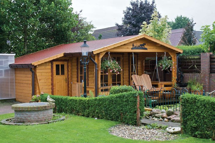 Have feel of holiday every weekend with this beautiful weekend house!     http://www.gardenbuildingsonline.com/product-category/weekend-houses/