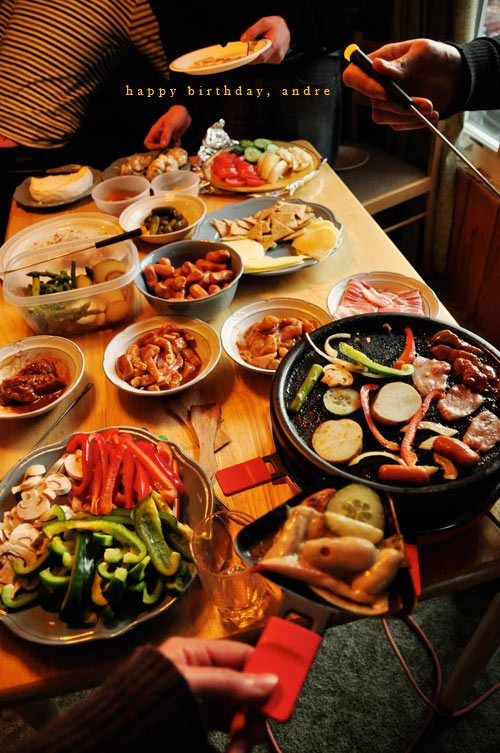 A Raclette Party want to try before you buy- just send me an email SusiesPURSEnality@gmail.com