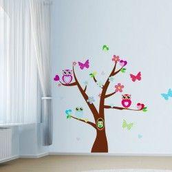 Tree of owls!  Nu har du chansen att fynda detta väggdekor med ugglor och ett träd. Det unika motivet ger rummet en snygg och fräsch look!  Länk till produkt: http://www.feelhome.se/produkt/tree-of-owls/  #Homedecoration #art #interior #design #Walldecor #väggdekor #interiordesign #Vardagsrum #Kontor #Modernt #vägg #inredning #inredningstips #heminredning #natur #djur #fjäril #fågel #barn #barninredning #barnrum