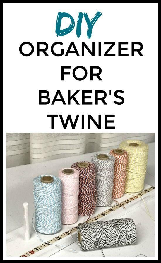 Baker S Twine Spool Holder Organization Ideas Pinterest Bakers