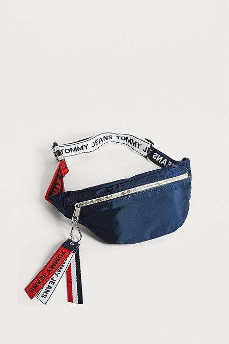 Tommy Bum Tape Logo Fanny Bag Pack Jeans 7pPrq7