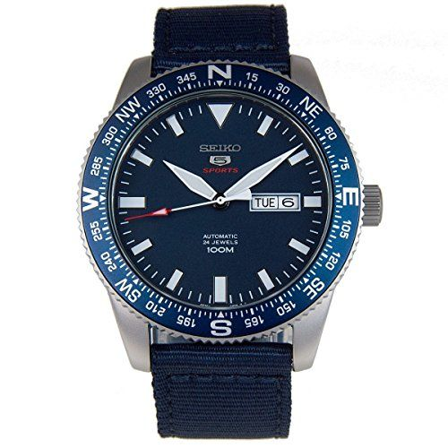 Watch Seiko Seiko 5 Military Srp665k1 Mens Blue *** Continue to the product at the image link.