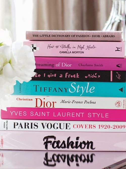Stacked Coffee Table Books | 15 Things Every Fashion Girl Has In HerHome | Cynthia Reccord