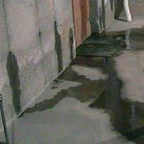 Troubleshooting Wet Basement Problems: Basement Leak in Poured Concrete Wall