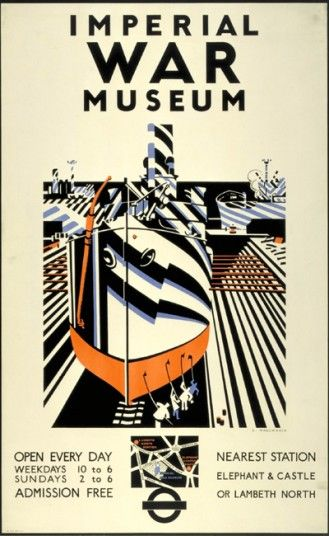 Imperial War Museum by Edward Wadsworth, 1936