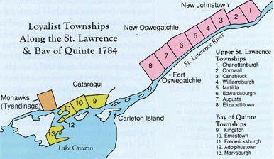 Loyalist Townships - United Empire Loyalists' Association of Canada
