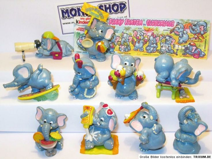 Kinder Egg Elephants