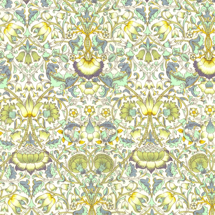 Lodden Green Liberty Print Fabric