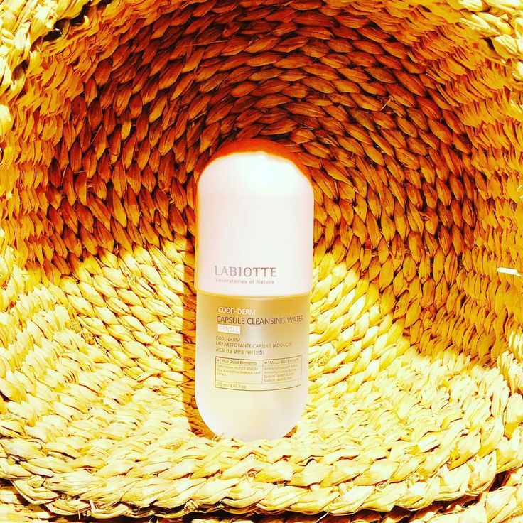 CHATEAU LABIOTTE capsule Cleansing water is incredibly effective for sensitive skin