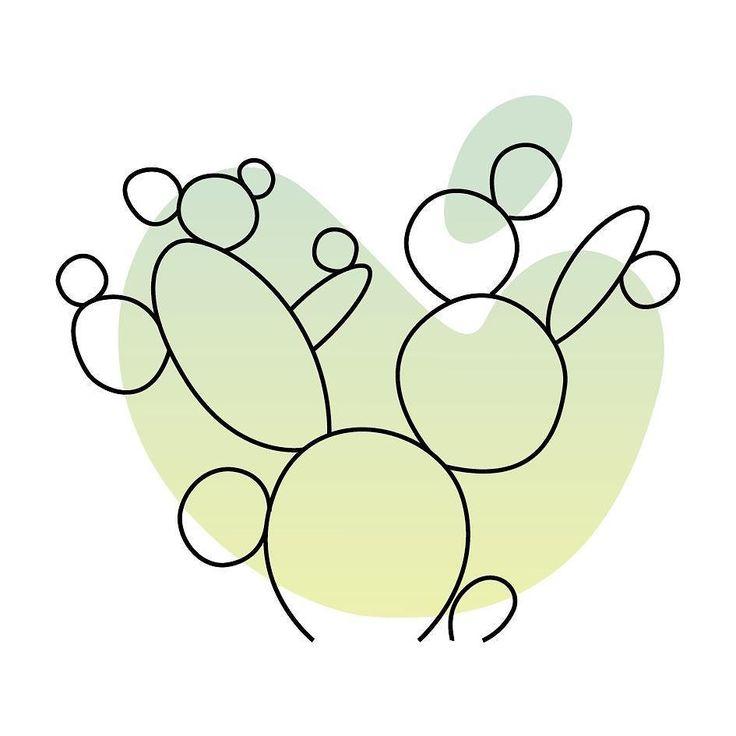 Opuntia microdasys o come la chiama mio nonno le orecchie di topolino  è la cugina del Fico D'india dia hanno quasi tutte le caratteristiche principali simili la opuntia è però più compatta ha pale minute con innumerevoli e minuscoli aculei bianchi. Anche lei viene dal Messico fa dei mini fruttini dopo deli bellissimi mini fiorellini gialli pallido ma per lo più è una pianta di una bellezza e perfezione che mi fa girare la testa. Ecco l'ottavo cactus del pattern creato per…