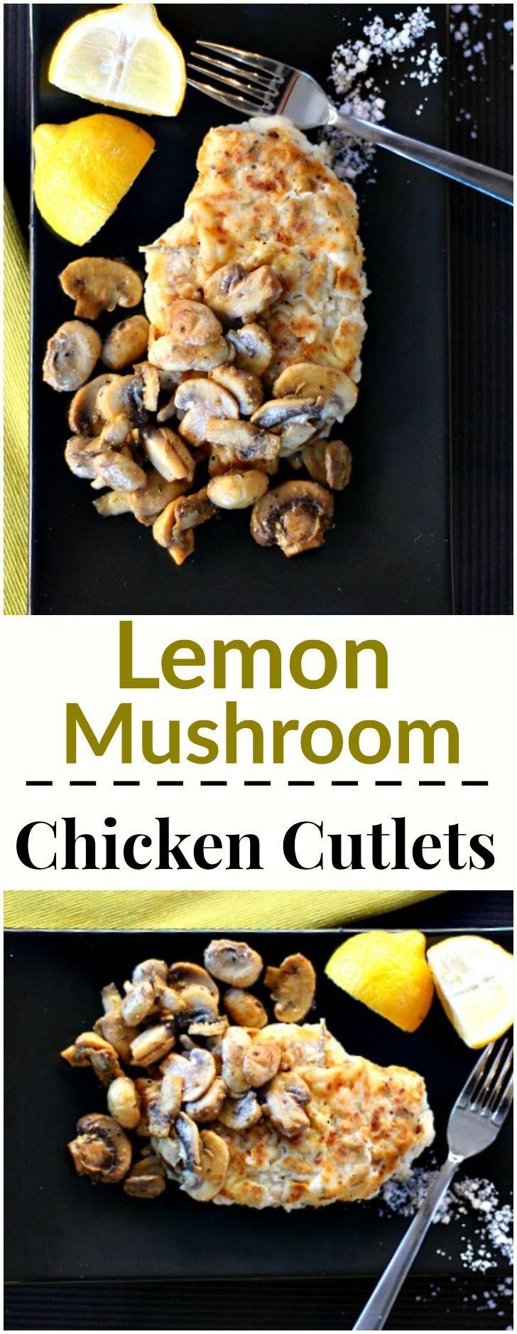 Easy Weeknight chicken breast cutlet recipe idea. Healthy dinner idea. So delicious.
