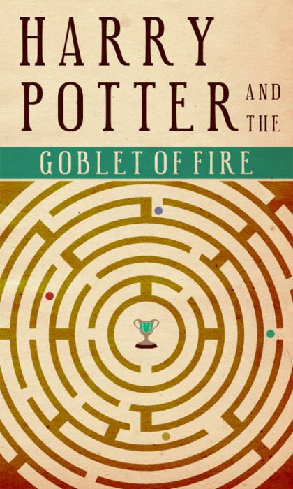 Harry Potter: Cinemat Movies, Goblet Of Fire, Covers Design, Book Covers, Harry Potter, Book Design, Minimal Movies Poster, Covers Art, Minimalist Movies Poster