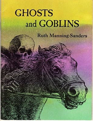 """Simply titled """"Ghosts and Goblins"""", this is a 32-page paperback of Ruth Manning-Sanders stories published in 1972 by Science Research Associates and Western Publishing Company. It was part of an SRA Reading Laboratory Kit."""