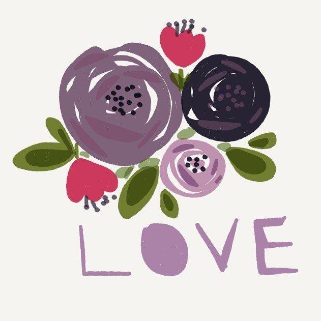 #flowers #цветочки #цветы #шретерарт #планшетноетворчество #illustration #digitalart