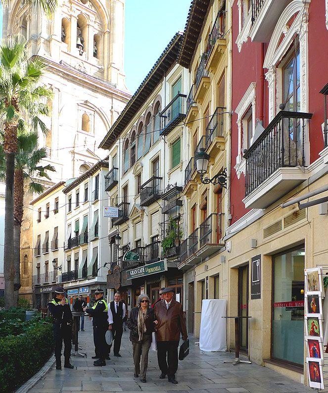 Plaza de la Romanilla - Granada, Spain
