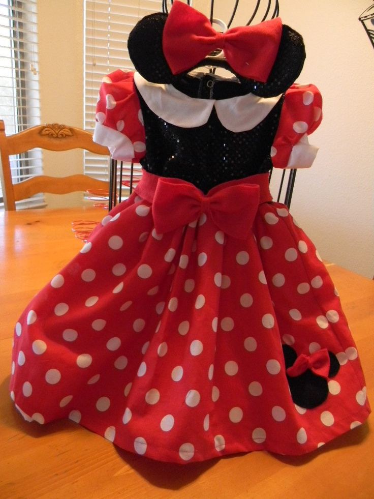 Princess Minnie Mouse costume by Heartfeltcostumes on Etsy, $50.00