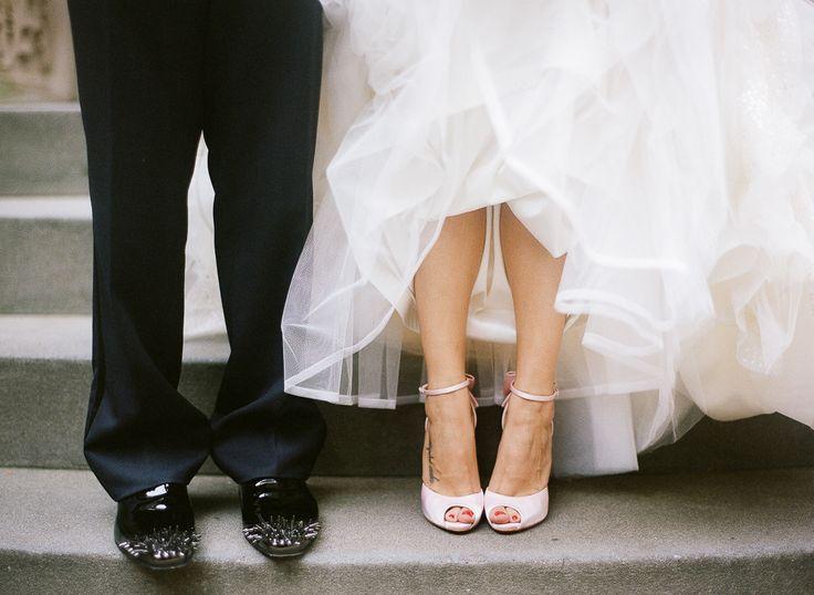 cinderella bride christian louboutin