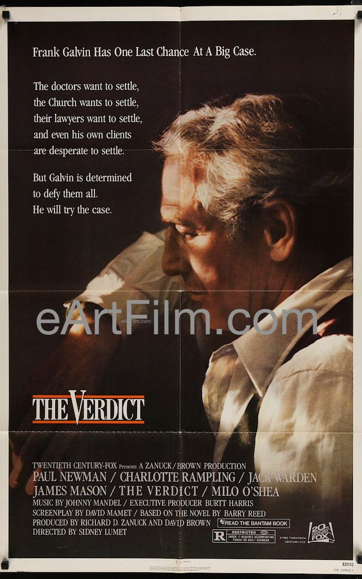 Happy Birthday #CharlotteRampling https://eartfilm.com/search?q=charlotte+rampling #actors #acting #TheDamned #TheVerdict #45Years #LondonSpy #Restless #Zardoz #film #movies #posters #movieposters #cinema  Verdict, The 1982 27x41 Original Vintage Movie Poster Paul Newman