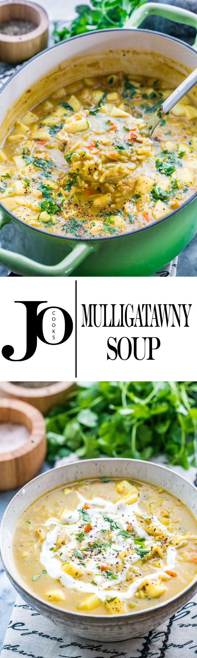 This Mulligatawny Soup is a traditional curry soup with origins in Indian cuisine and it's deeply satisfying, comforting and delicious. Mildly spicy, creamy, loaded with chicken and apples, simply incredible!