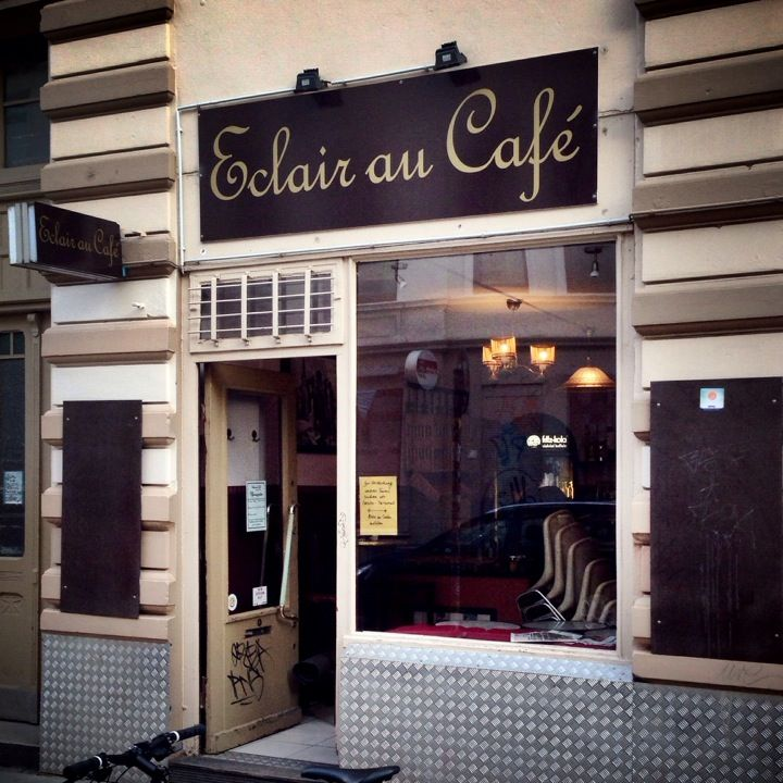 Éclair Au Café in Hamburg, Hamburg