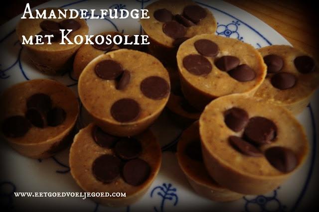 Eet goed, Voel je goed: Amandelfudge met Kokosolie