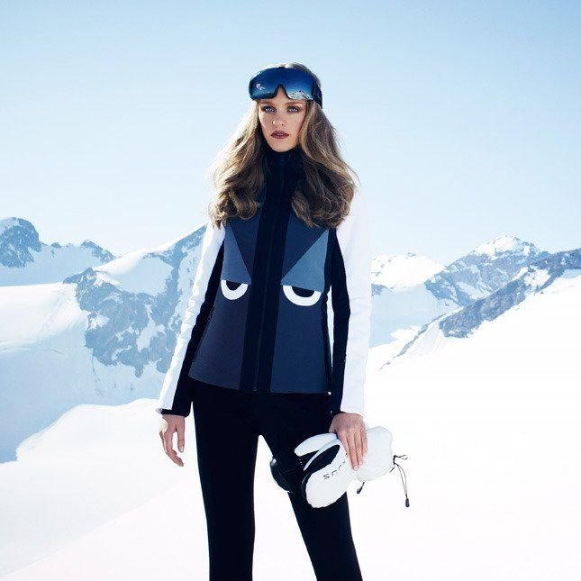 Net a Porter Launches Ski Shop, See the Looks! #ranitasobanska #fashioneditorials #sportfashion