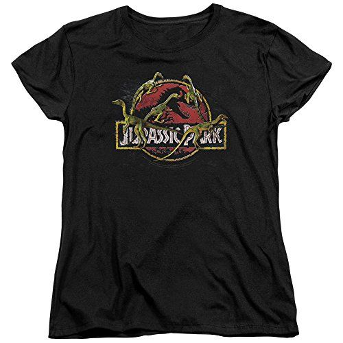 Jurassic Park Dinosaur Action Movie Something Has Survived Womens T-Shirt Tee @ niftywarehouse.com #NiftyWarehouse #JurassicPark #Jurassic #Dinosaurs #Film #Dinosaur #Movies