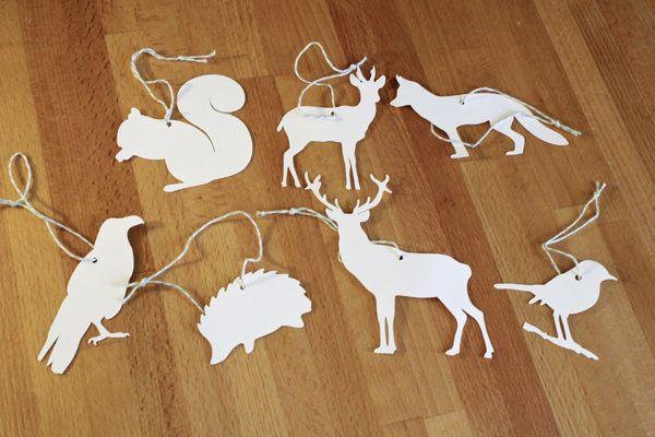 Gifttags 'forest animals' by faltmanufaktur