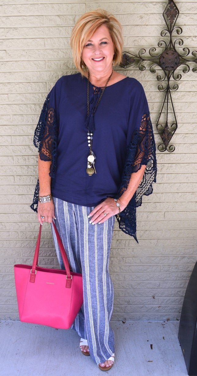 50 IS NOT OLD | THIRD TIMES CHARM | Linen Pants | Summer Outfit | Poncho…