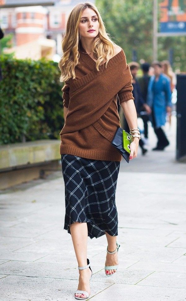 Olivia Palermo Wear Fall's Hottest Color Trend