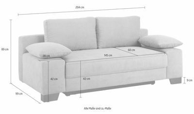 home affaire schlafsofa in microfaser primabelle sofa styling sofa set furniture