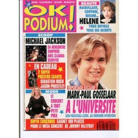 Revue OK Podium [avec des posters à l'intérieur...chouette chouette chouette]