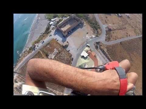 SFAKIA FRAGOKASTELO-Flying over South Crete Greece HD