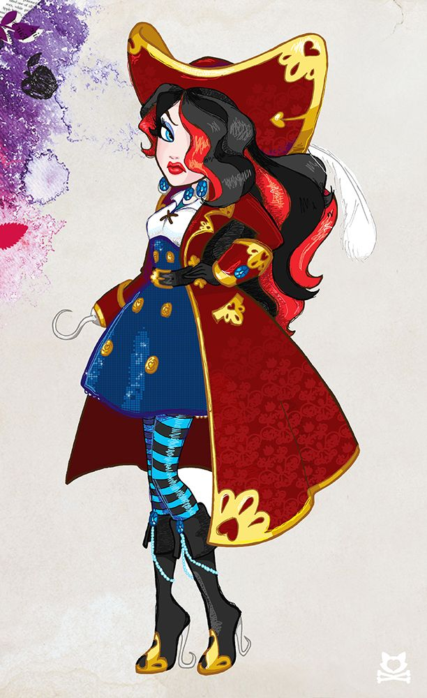 Ever After High Style Jane Hook Monster And