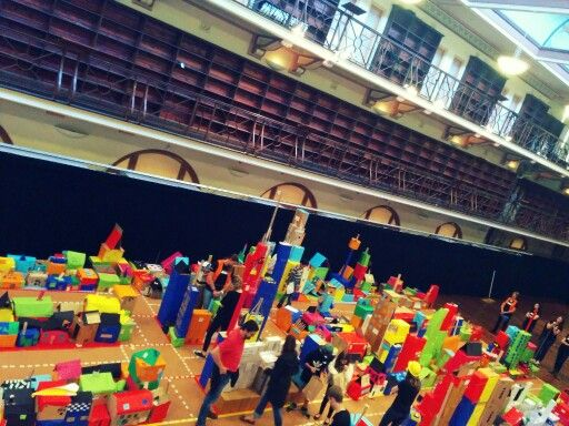 Cultural centre, museum -Box City