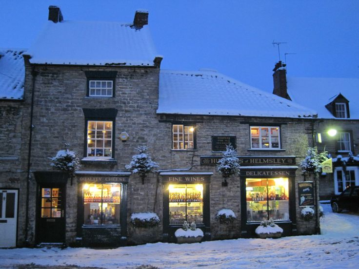 Helmsley, Yorkshire, UK - wintertime