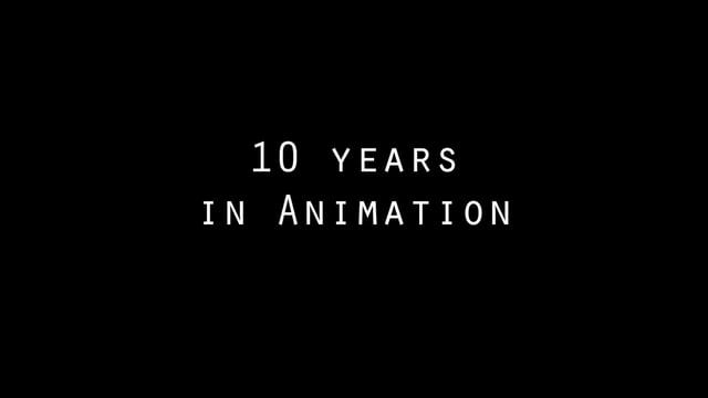 Can't believe it's been 10 years since i started moving things around. For someone that shouldn't even be an Animator, it's quite an achievement. Enjoy this mix of old and new  Thanks to all the fellow Animators that i've met during my journey and to the Companies that were crazy enough to hire me... especially Weta Digital and it's gang of Supervisors.  This is NOT a DemoReel, these are just bits of some of the shots i've animated during the years  ***Disclaimer*** - The king kong shot…