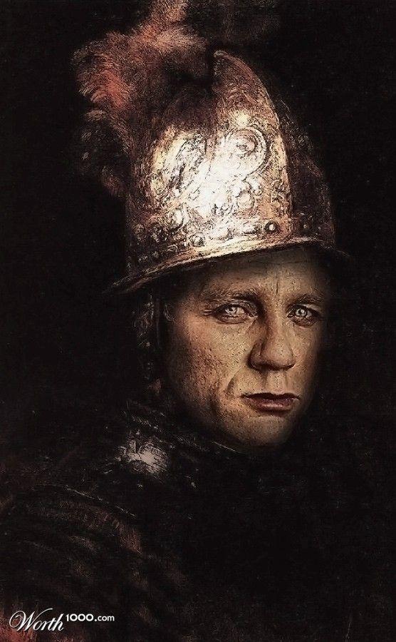 Celebrities in Classic Paintings - Daniel Craig