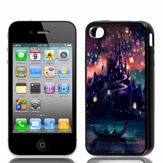 Disney Tangled  Iphone 44s5 Samsung Galaxy S2 S3S4  by RestuCase, $15.00