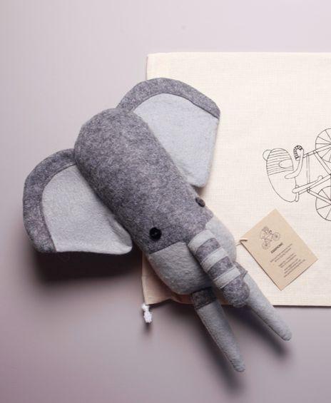 elephant: Borrowed Ideas 3, Fabrics Dolls, Soft Animal, Soft Dolls, Handmade Dolls, Felt Inspiration, Handmade Toys, Elephants Softies, Felti Inspiration