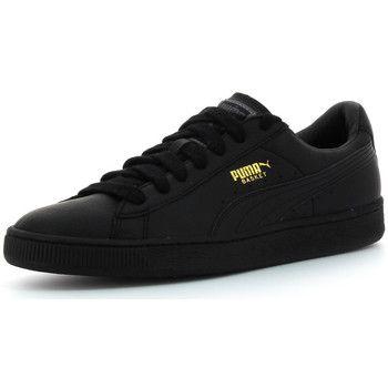 Zapatillas+bajas+Puma+Basket+Classic+LFS+negro+72.00+€