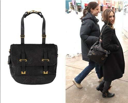 celebrities with yves saint laurant bags | Sarah Jessica Parker is ...