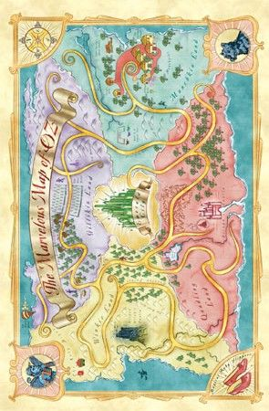 wizard of oz map - Pesquisa Google