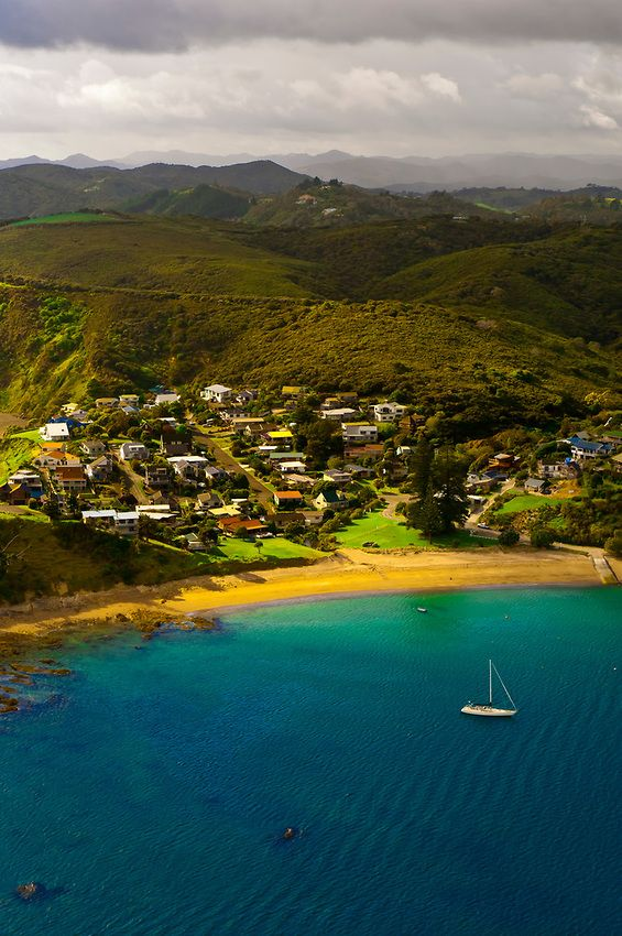 Russell, Bay of Islands, Northland, New Zealand.