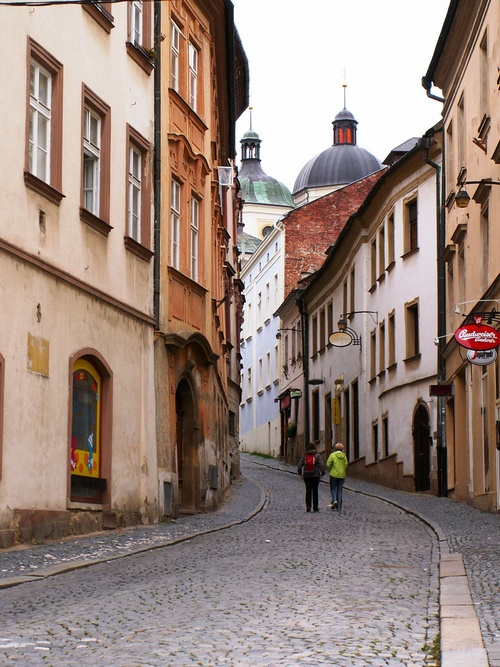 Wandering through old streets (by Pedro NC)  Olomouc, Czech Republic