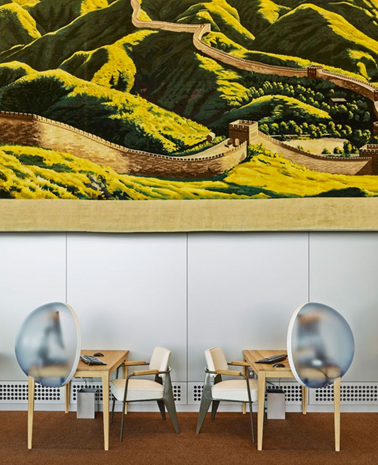 hella jongerius + rem koolhaas: UN north delegates' lounge
