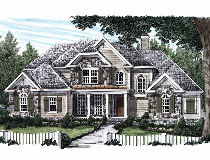 Superb Eplans+French+Country+House+Plan+ +Features+Two+Fireplaces+