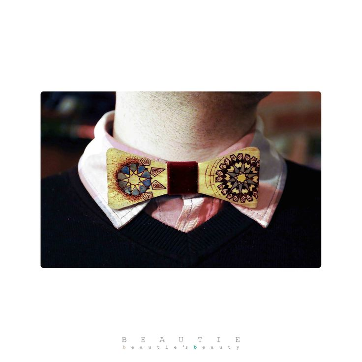Unique handcrafted wooden bow tie (Beau Tie) Beau Tie Catalog (Bow Tie Catalog) - Volume #1- Winter 2015 © Guerdoo Design